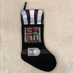 Lightly used Star Wars Christmas stocking.